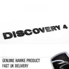 DISCOVERY 4 Black Bonnet or Boot/Tailgate Letters